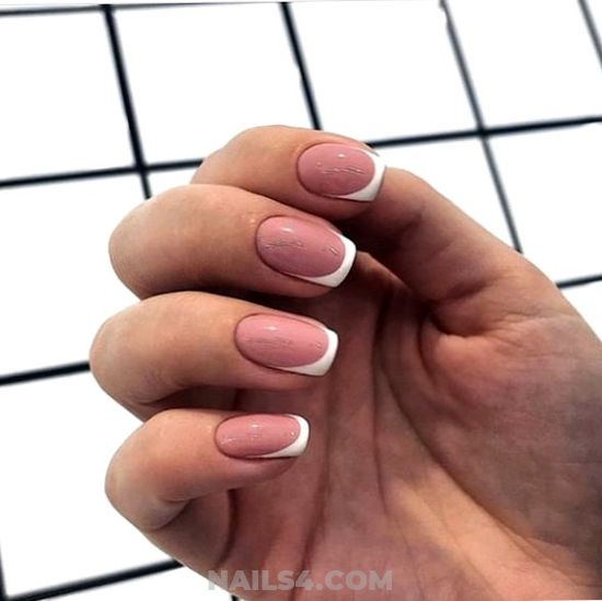 Cutie & Neat Gel Nails Art Design - sexiest, goingout, nail, cunning