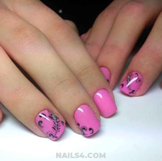 Fantastic Glamour Acrylic Manicure Art - idea, diynailart, selection