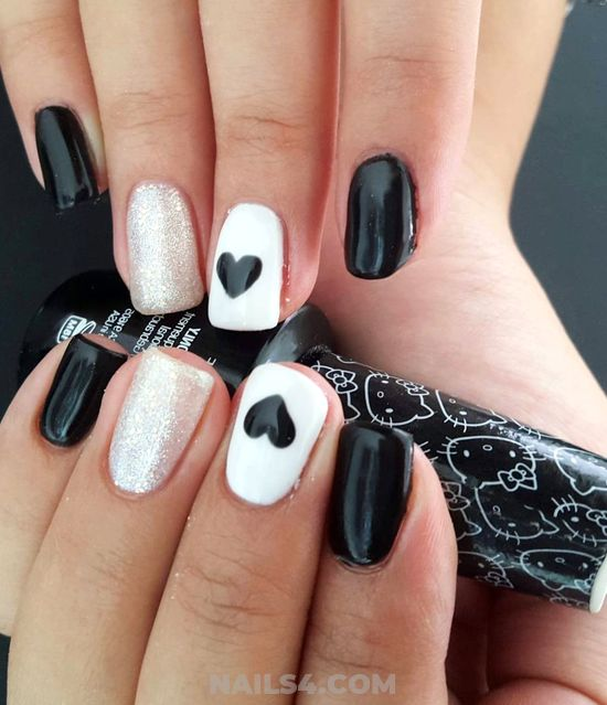 Feminine And Easy Design - nailideas, nails, ravishing, fashion