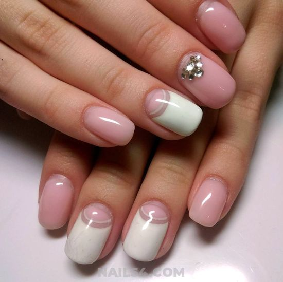 Graceful & Dainty Nail Art Design - nail, sweetie, glamour, photoshoot
