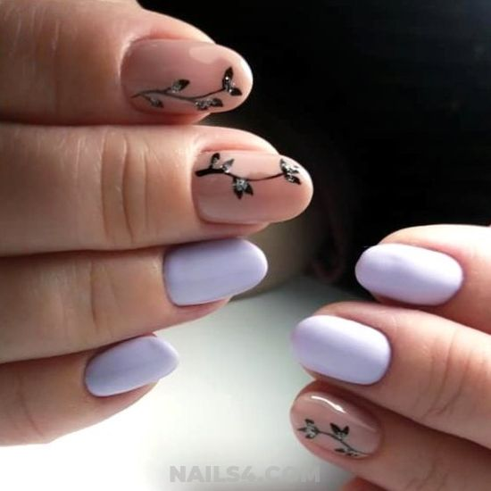 Handy And Delightful Gel Nail Design - star, fashion, nail, nailartideas