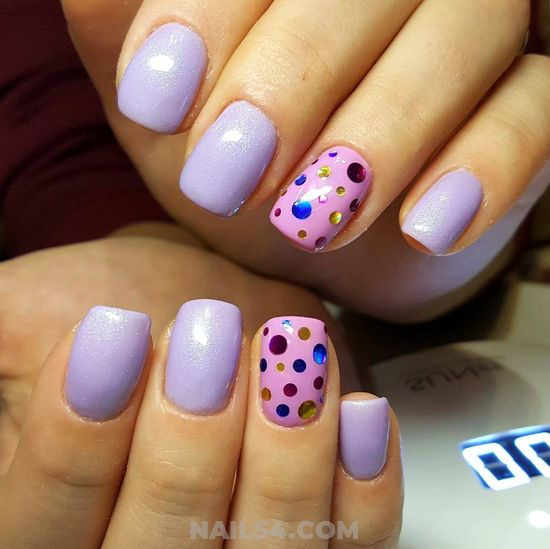Handy Charming Acrylic Nails Ideas - cute, nail, nailstyle, lovely