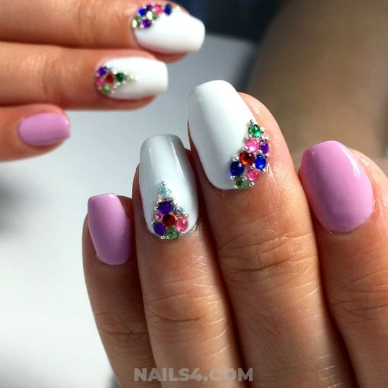 Hot & Classic Gel Manicure Style - nailstyle, nail, neat, attractive