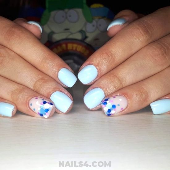 Inspirational And Awesome Gel Manicure Design - nails, diynailart, delightful, idea