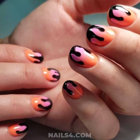 Inspirational Charming Acrylic Manicure Trend - nails, naildesign, creative, sexiest