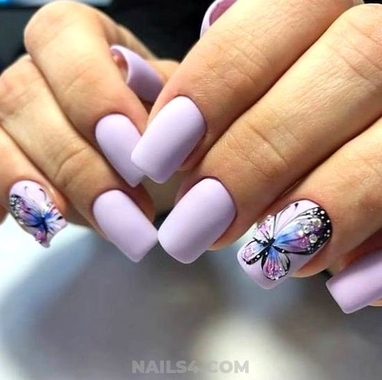 Inspirational & Creative Acrylic Nails Design - ideas, naildesigns, smart