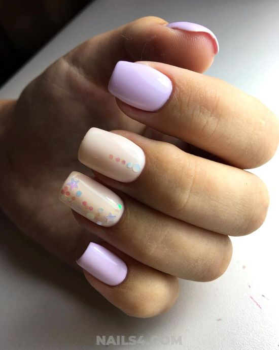 Inspirational & Fashion Acrylic Manicure Art Ideas - getnailsdone, design, nails, trendy