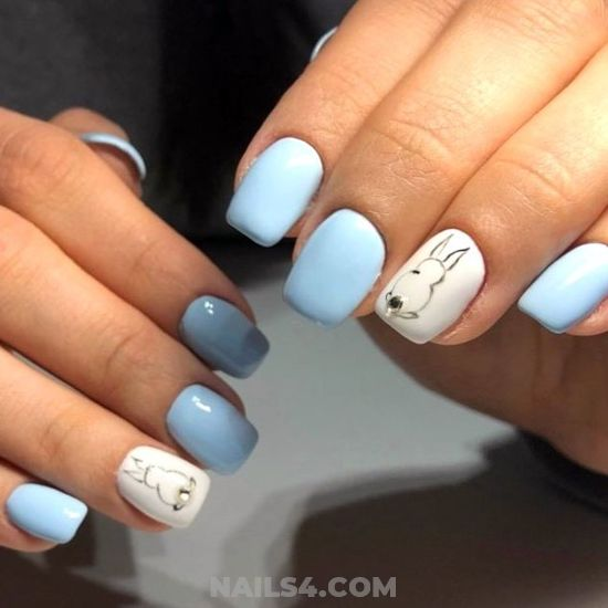 Lovely And Best Art Design - nailstyle, simple, teen