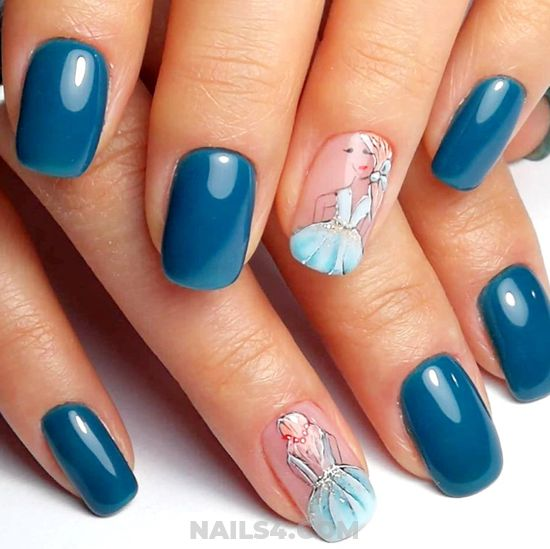 My Creative Unique French Acrylic Nails Ideas - cute, nail, getnails, plush, royal