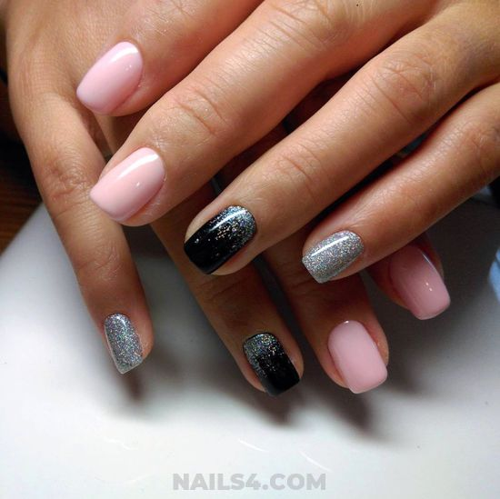My Iconic & Best Gel Nail Design - gelpolish, fashion, diynailart, nail