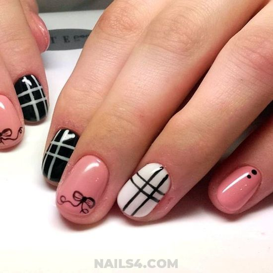 My Top Dainty Nails Idea - nail, selfnail, creative