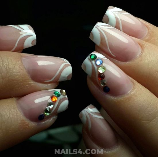 Nice And Casual Nails Design - nailtech, nail, furnished, amusing