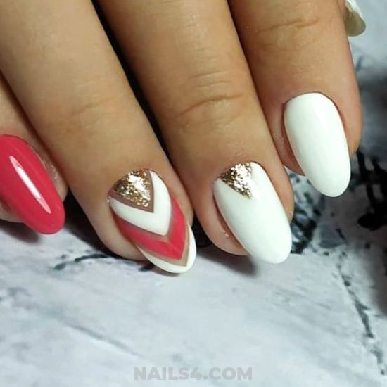 Nice And Fresh Manicure Design - furnished, gel, nail, naildesign