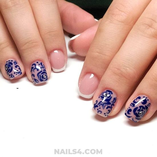 Orderly Fashion Manicure Design Ideas - top, artful, nailidea, cute
