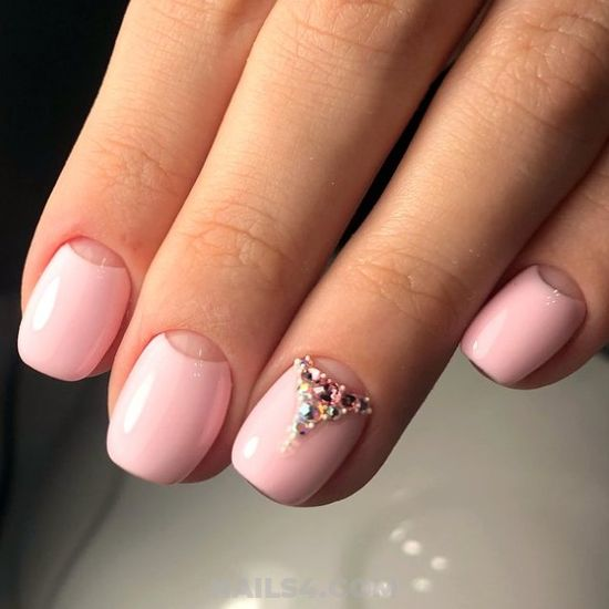 Perfect And Fantastic Acrylic Nail Design Ideas - nails, furnished, design, classic