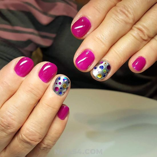 Pretty Feminine American Gel Nail Idea - nails, sexiest, inspirationidea