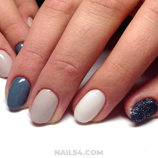 Simple Beautiful Gel Nails Idea - diy, nails, simple, manicure