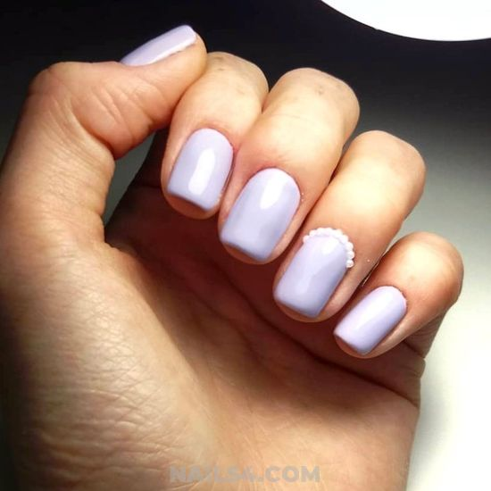 Simple & Ceremonial Gel Nails Ideas - star, sweetie, nailartideas