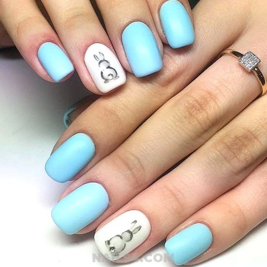 Simple & Charming Acrylic Nails Art - magic, nail, nailideas, selection