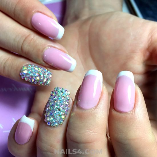 Super And Cutie American Acrylic Nail Trend - diy, nailsdone, manicure