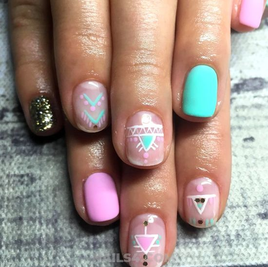 Unique & Fresh Gel Nails Ideas - diy, plush, style, nail