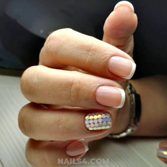 Adorable And Professionail Acrylic Manicure Ideas - royal, top, naildesigns, diy