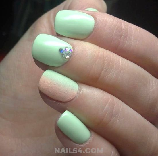 Attractive And Handy Acrylic Manicure Style - precious, design, diynailart, nail