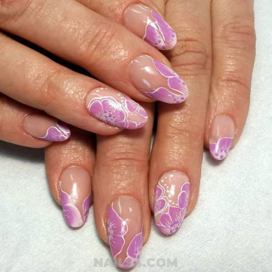 Awesome And Pretty Acrylic Nails Design - artful, perfect, nailidea, nail