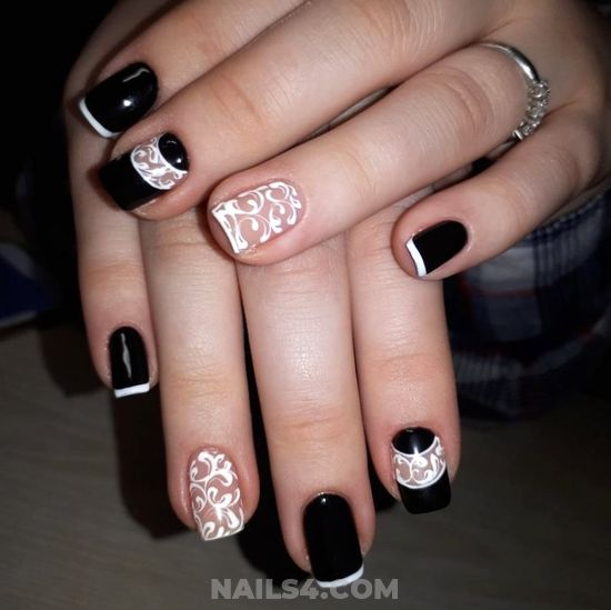 Balanced And Unique Gel Nails Art Design - cool, nail, nailideas, lovable