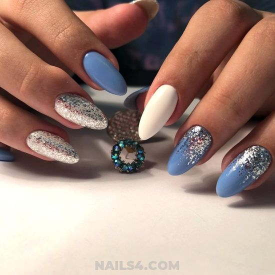 Beautiful Gorgeous Gel Nails Art - glamour, gel, nailstyle, nails