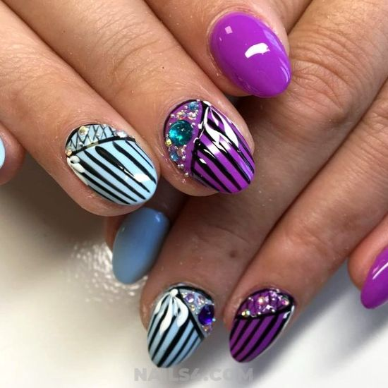 Best & Professionail French Gel Nails Art Ideas - charming, fashion, lovely