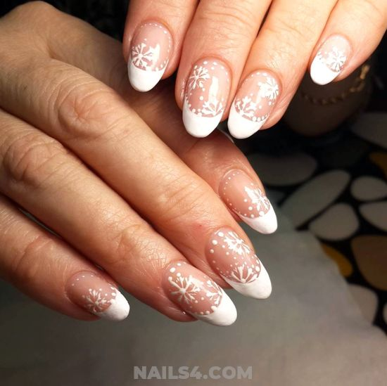 Charming Graceful Gel Nails Art Design - clever, nail, nailartdesigns, neat