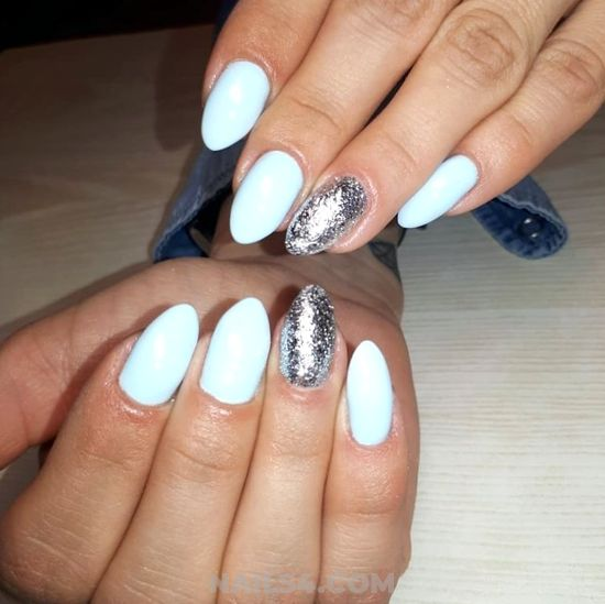 Chic And Gorgeous Nail Ideas - royal, dreamy, nails, nailartdesigns