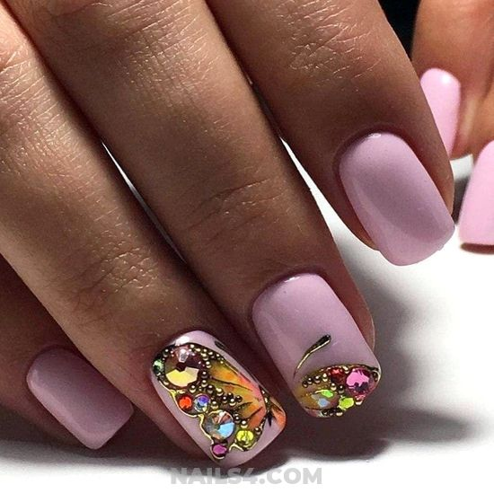 Classic And Gorgeous American Acrylic Nails Trend - gorgeous, art, naildesign, nails