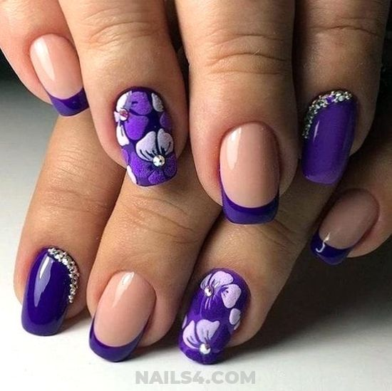 Classic Simple Manicure Style - nails, diynailart, super, style