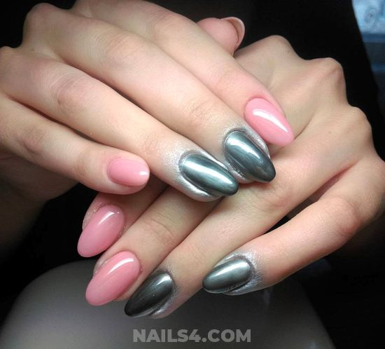 Cool & Easy Gel Manicure Art Ideas - nailswag, star, nail, naildesign