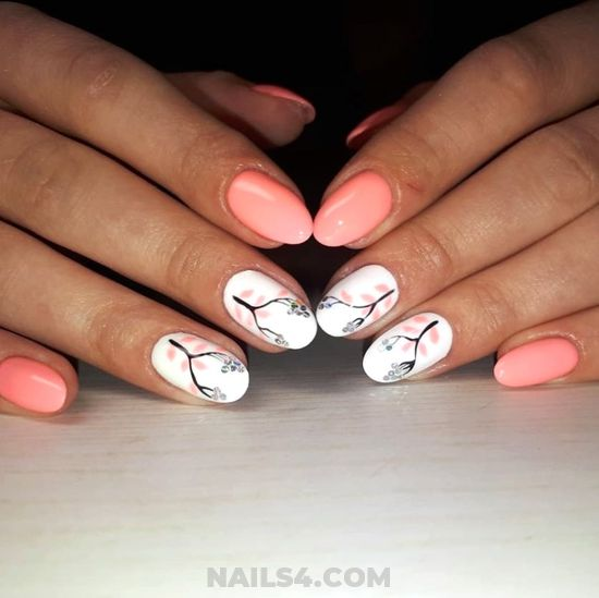 Cool Lovable French Nails Art - beautytricks, fashion