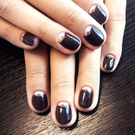 Cute And Wonderful Gel Manicure - nails, art, precious