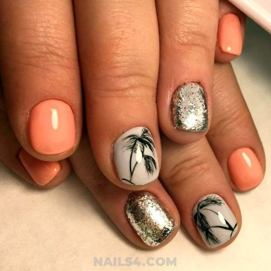 Cute Easy French Nail Art - acrylic, nail, nailidea, hilarious