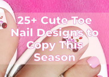 Cute Toe Nail Designs to Copy This Season