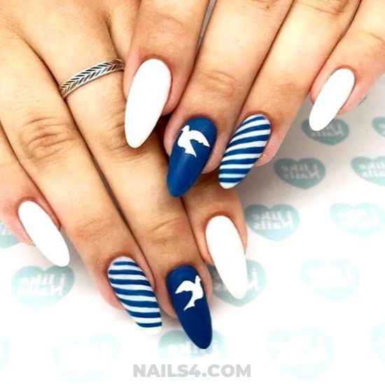 Cutie & Stately Gel Manicure Ideas - glamour, naildesigns, nails, neat