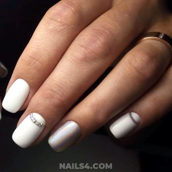 Delightful And Lovely Acrylic Nail Art Ideas - lovable, nails, furnished, dainty