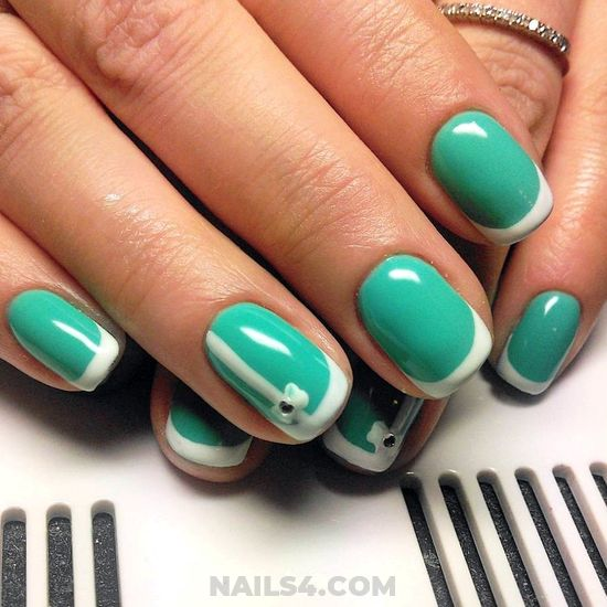 Delightful And Top Gel Manicure Trend - cutie, nail, lifestyle, naildiy