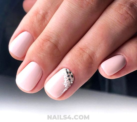 Dream Inspirational Gel Manicure Style - naildesign, nails, lovely, teen