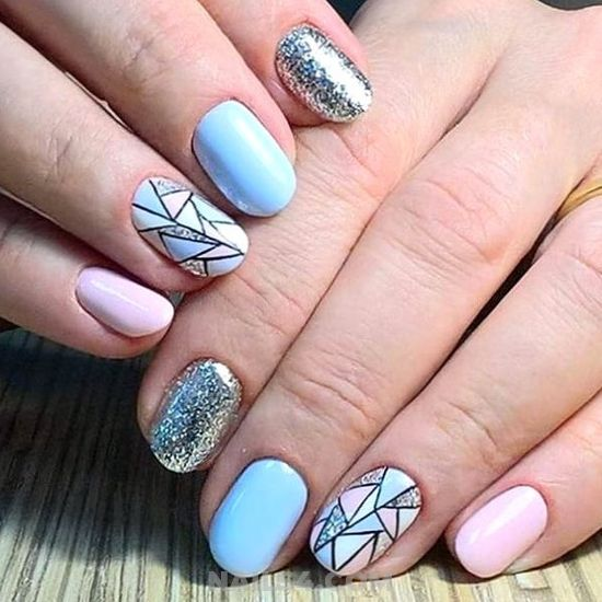 Dreamy And Professionail American Acrylic Nail Art Design - manicure, selection, diy, nails