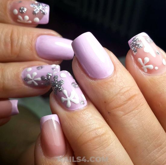 Easy And Adorable Manicure Trend - nail, shiny, art