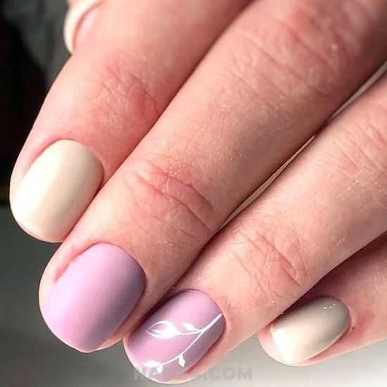 Easy And Enchanting Acrylic Manicure Idea - party, nailartideas, pretty