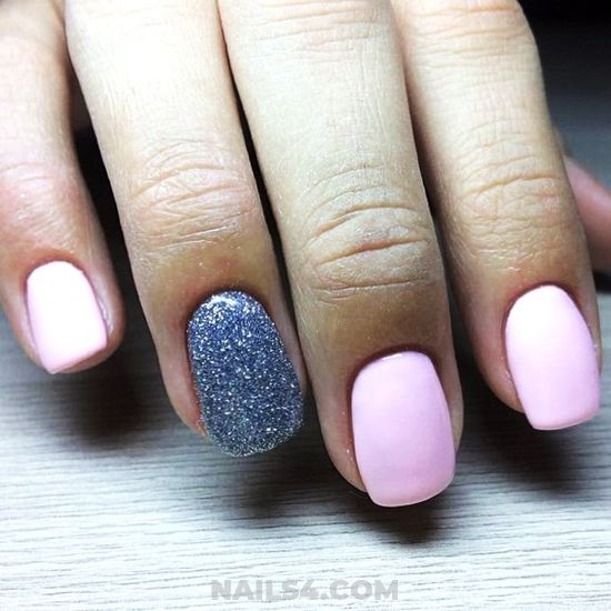 Easy Creative Gel Nails Art - fashion, nail, nailstyle, style
