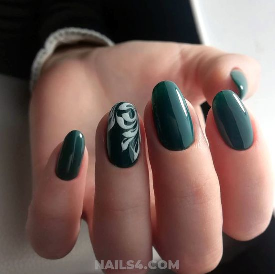 Elegant And Wonderful Acrylic Nail Idea - nails, gelpolish, hilarious, lovely