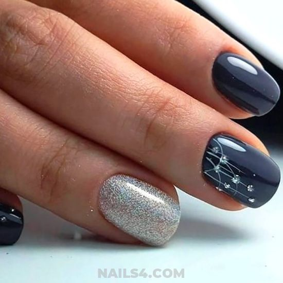 Elegant Top Manicure Style - nailstyle, nail, simple, weekend